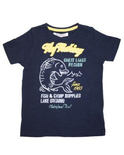 T-shirt - EBound FlyFishing Navy