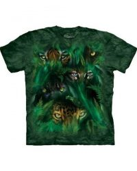 T-shirt - Mountain Jungle Eyes