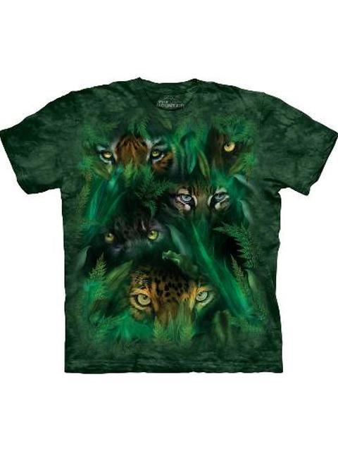 T-shirt - Mountain Jungle Eyes