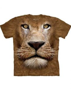 T-shirt - Mountain Lion Face