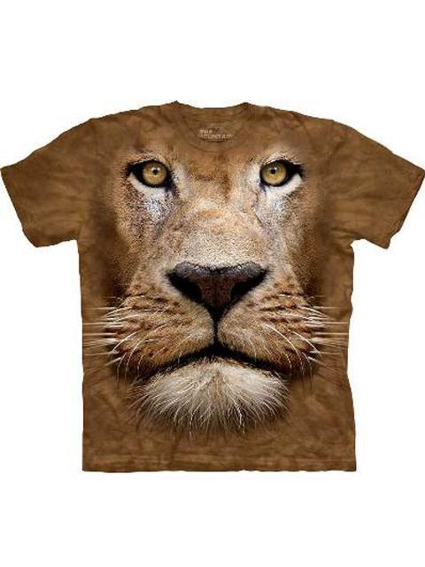 T-shirt - Mountain Lion Face