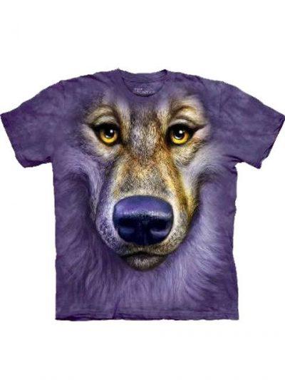 T-shirt - Mountain Friendly Wolf