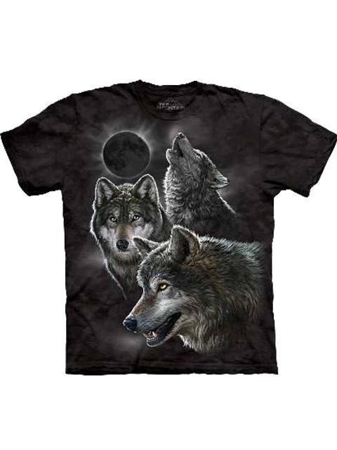 T-shirt - Mountain Eclipse Wolfs