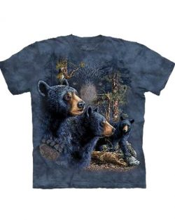 T-shirt - Mountain 13 Black Bears