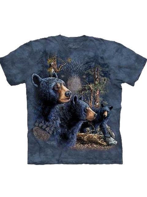 T-shirt - Mountain 13 Black Bears