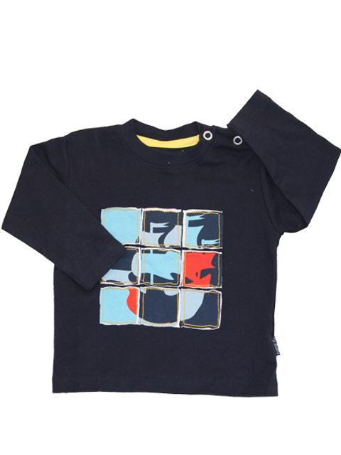T-shirt - Name It Kalle Navy