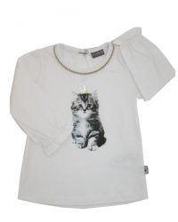 T-shirt - Claire Kitten Gold