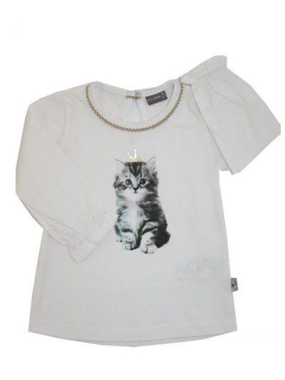 T-shirt - Claire Kitten Gold