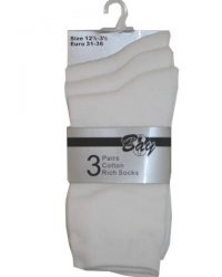 Strømper - Bay 3pak White