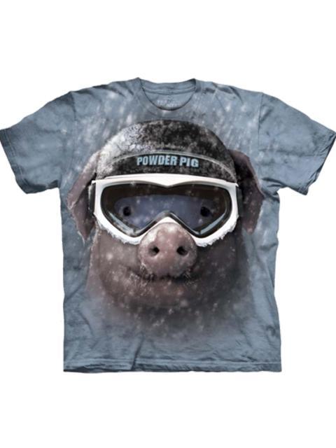 T-shirt - Mountain Powder Pig