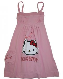 Kjole - Hello Kitty Pink
