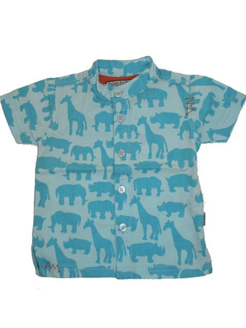 Skjorte - bombiBitt Blue Savannah