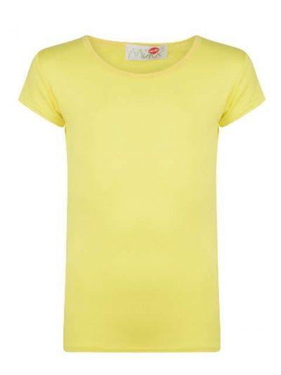 T-shirt - Minx Neon Yellow