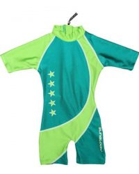 Sunsuit - Zunblock Star Lime