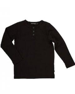 T-shirt - Minymo Granddad Black