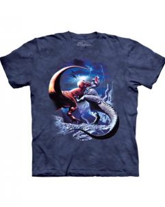 T-shirt - Mountain Fighting Rexes