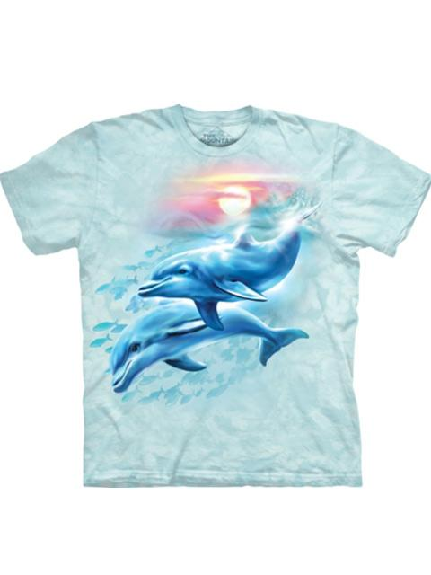 T-shirt - Mountain Dolphin
