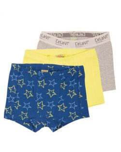Boxershorts - Celavi 3-pak stars