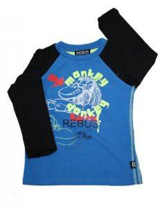 T-shirt - Rebus Monkey Donkey