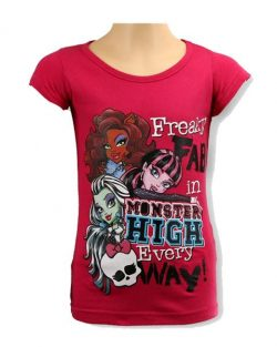 T-shirt - Monster High Pink
