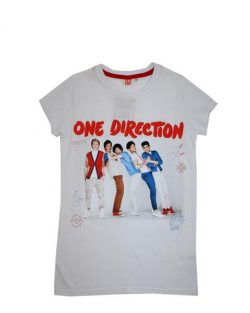 T-shirt - One Direction SS White