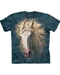 T-shirt - Mountain White Horse