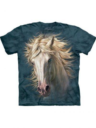 T-shirt - Mountain White Horse