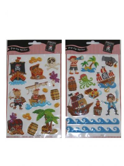 Stickers - Pirat Pop-Up 2pk