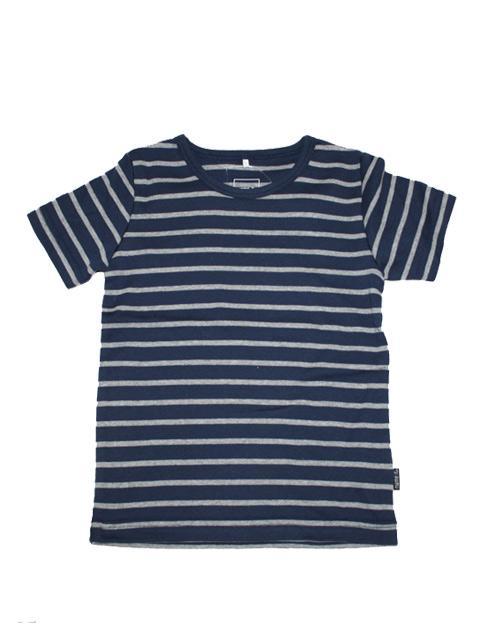 T-shirt - Name It Navy Str. SS