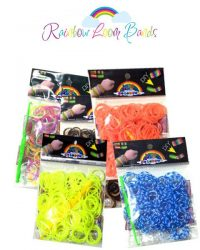 Loombands 200 stk - 5 ps