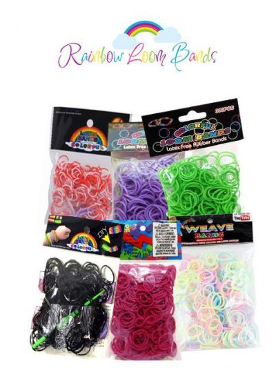 Loombands 300 stk - 3 ps