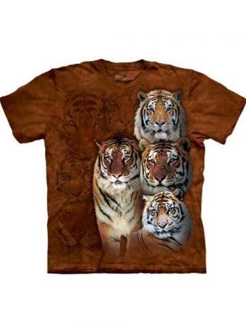 T-shit - Mountain Bengal Tigers