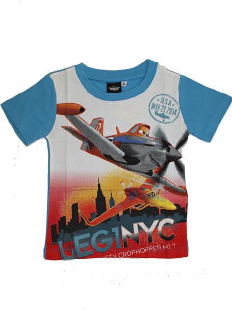 T-shirt - Planes Blue