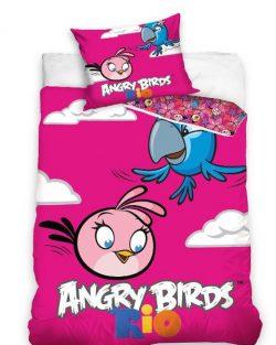 Sengetøj - Angry Birds Rio