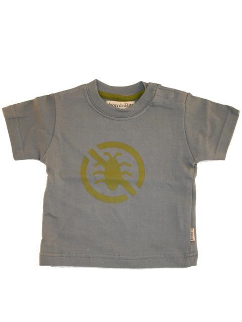 T-shirt - bombiBitt gråblå