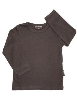 T-shirt - Maxomorra Basis Brun