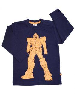 T-shirt - Pippi LS SuperHero Robot