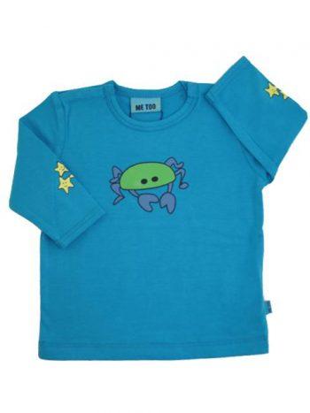 T-shirt - Me Too Blå Krabbe