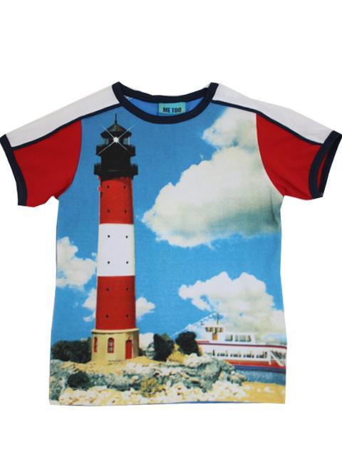 T-shirt - Me Too Fyrtårn