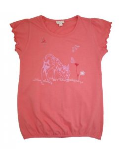 T-shirt - Claire Mini Coral